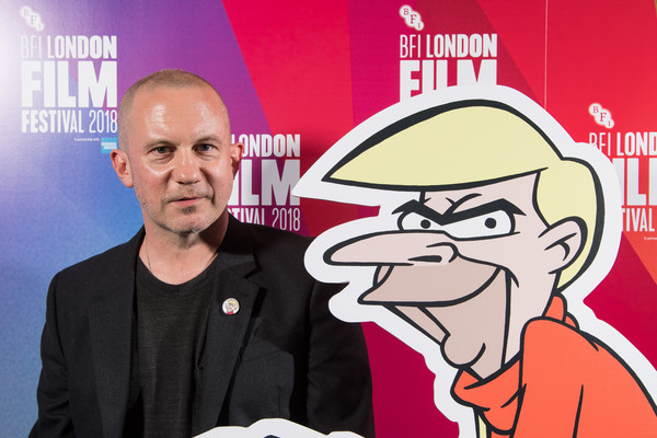 Richard Squires at the world premier of Doozy at the 2018 London Film Fstival