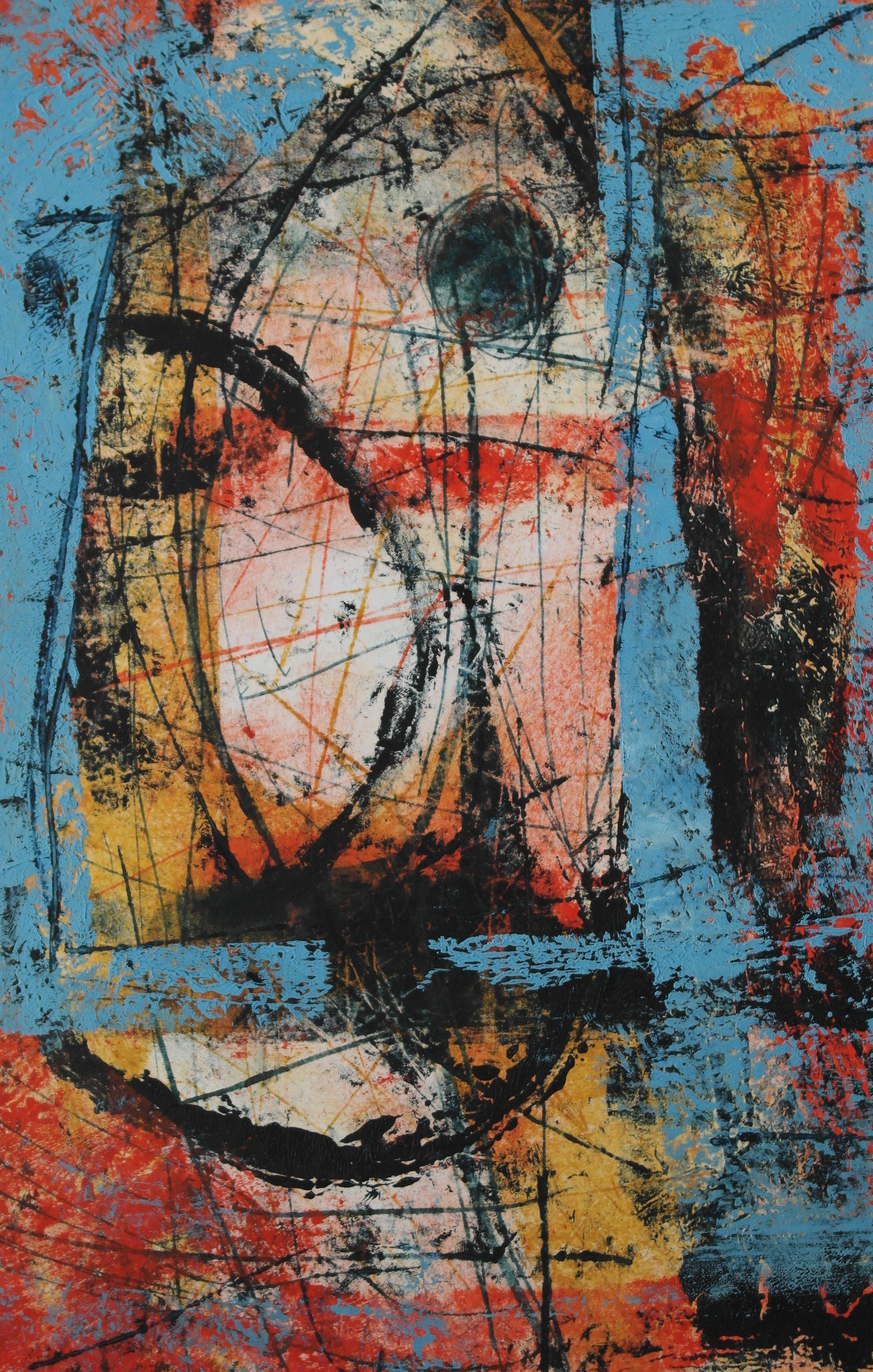Contemporary Abstract 2018   Dan Tirels