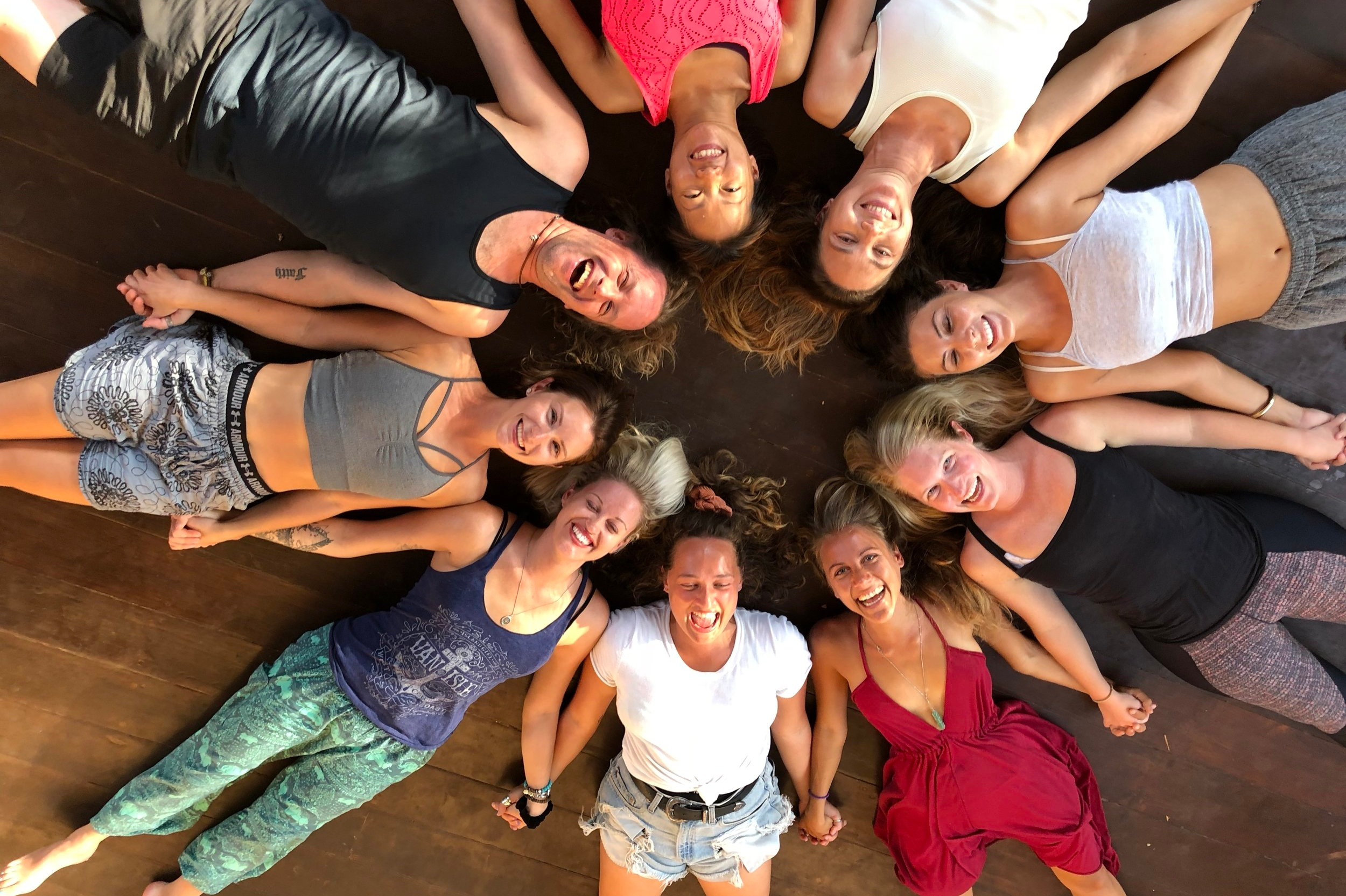 Step Three - Dive in deep for the life-affirming, yoga immersion you've always dreamed of. Become a Yoga Alliance certified teacher.