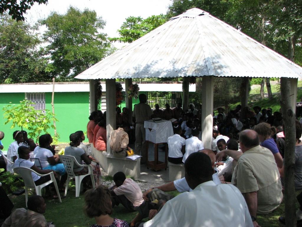 Outdoor Prayer Pavilion