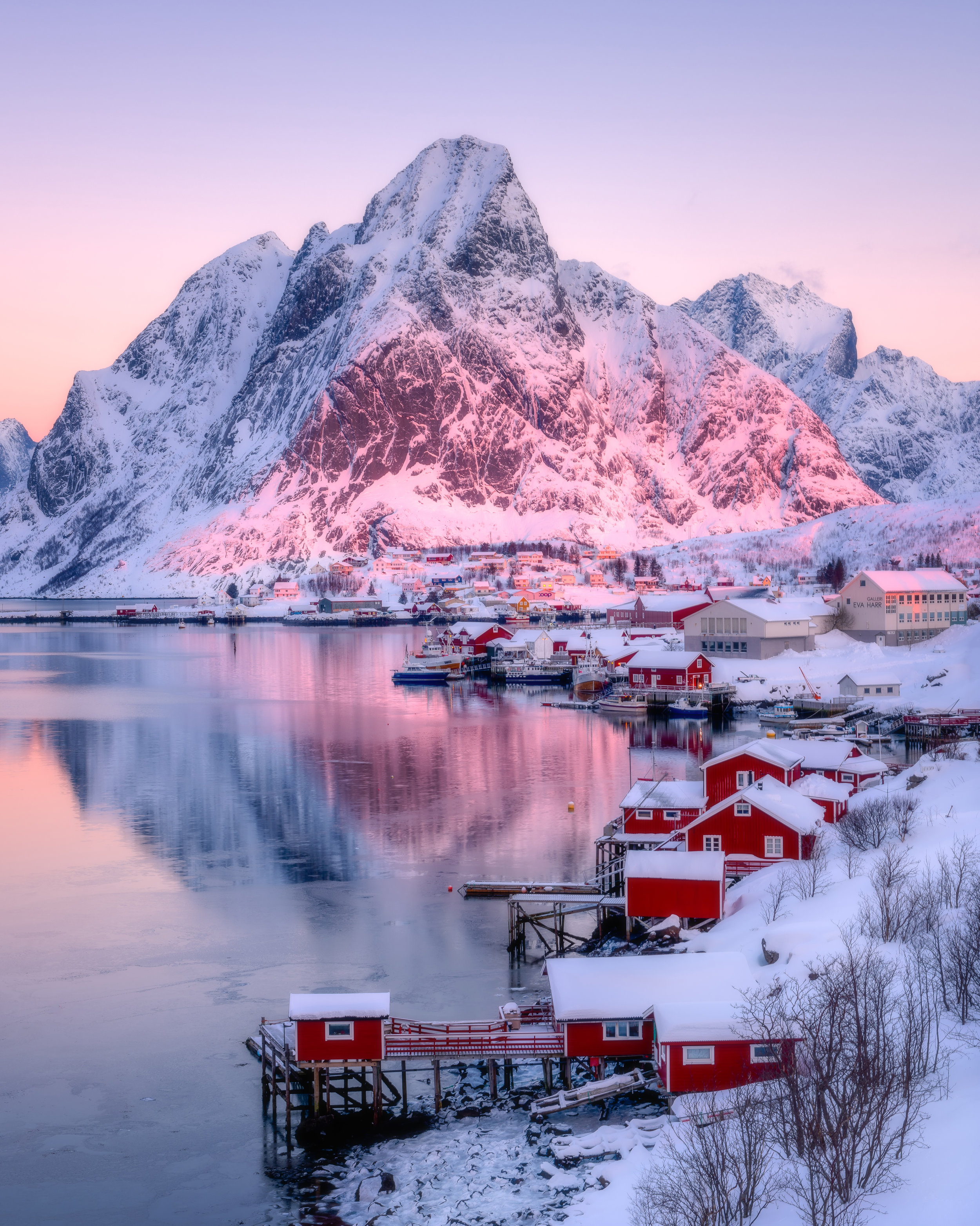 Reine at Sunrise, Lofoten