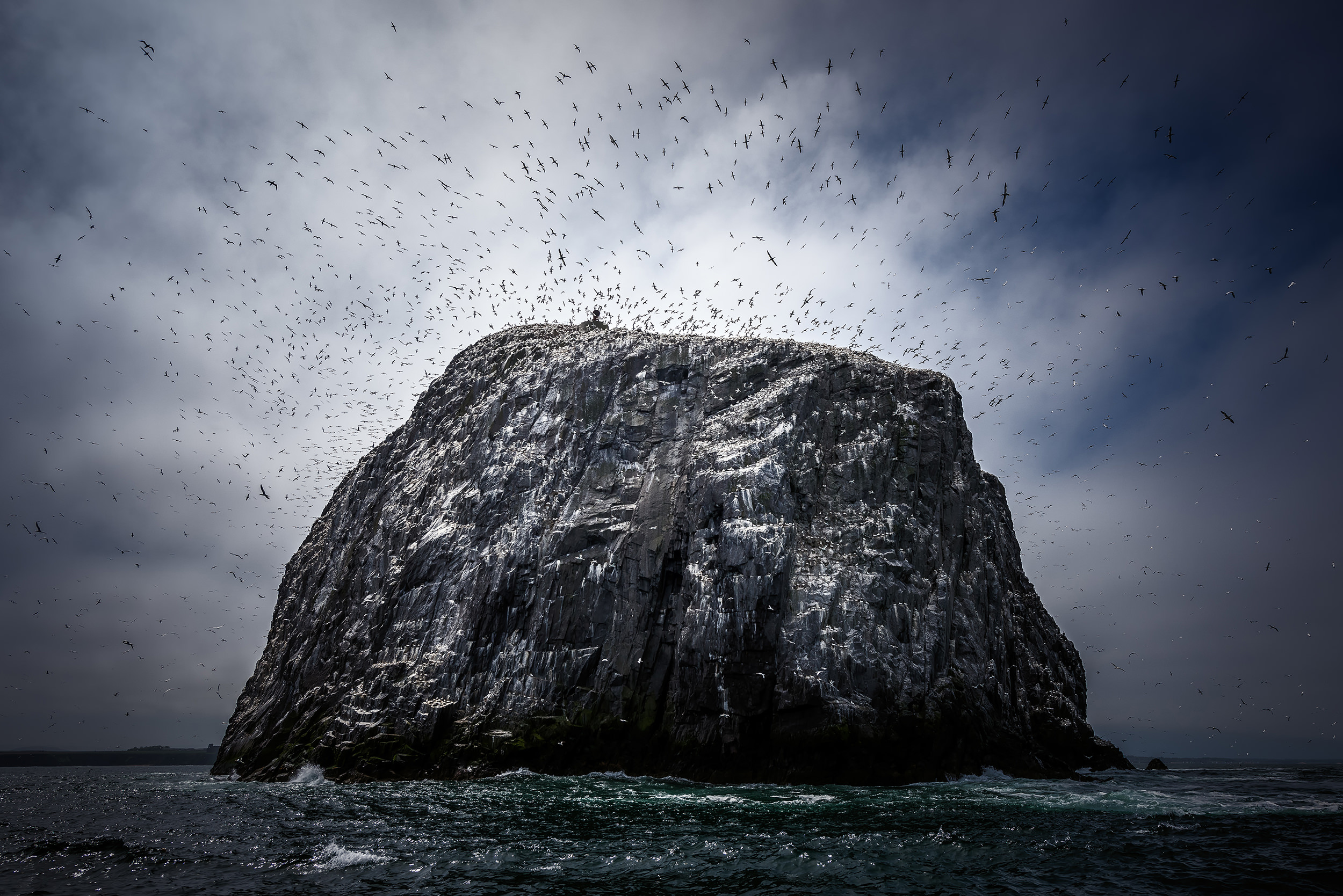 'Scotland's Alcatraz', the Bass Rock