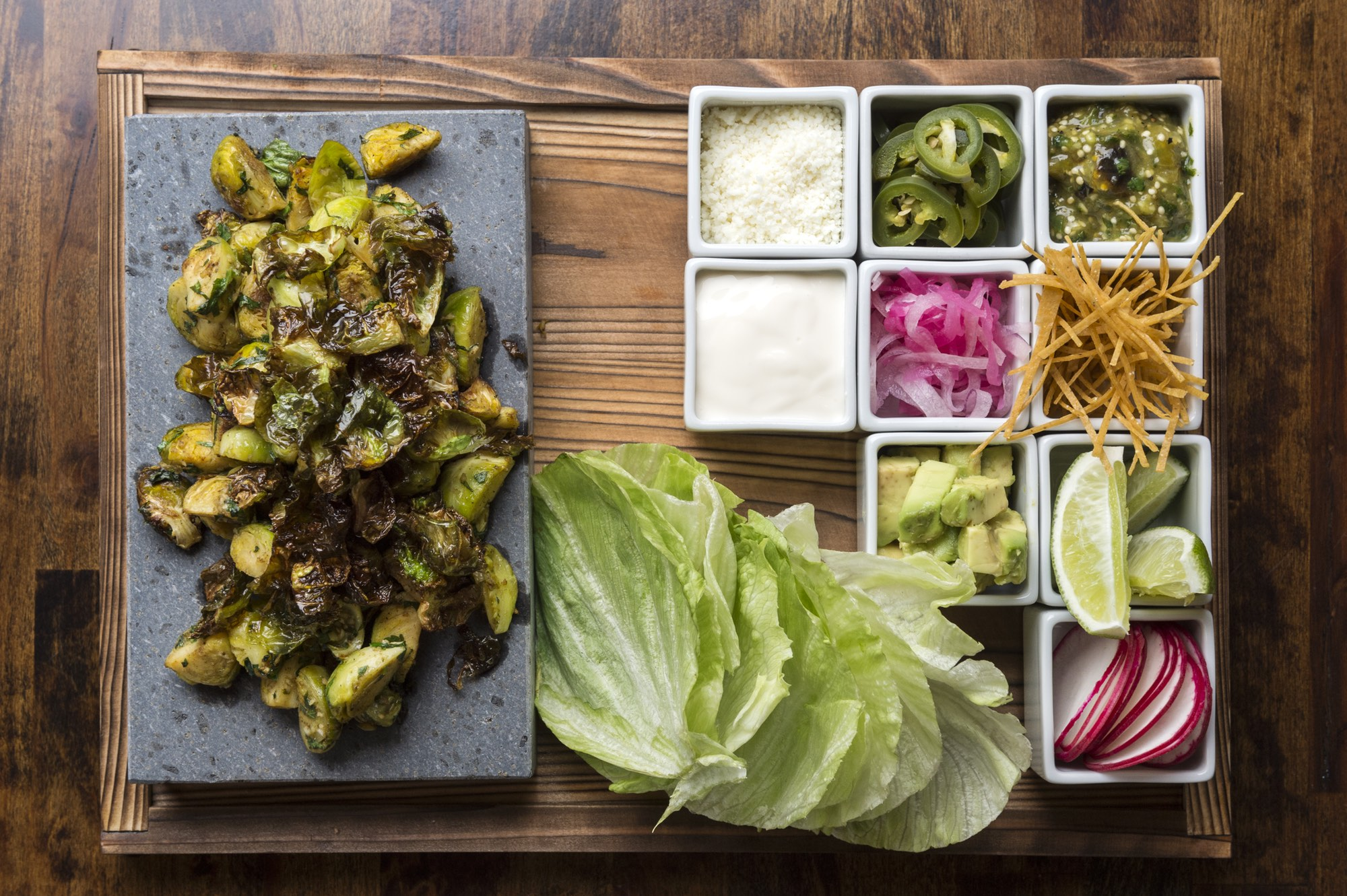 Brussels Sprout Tacos