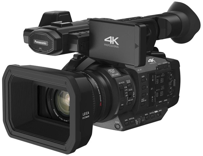 4k ProfessionalGrade Cameras - TOP OF THE LINE FOR THE VERY BEST PERFORMANCE