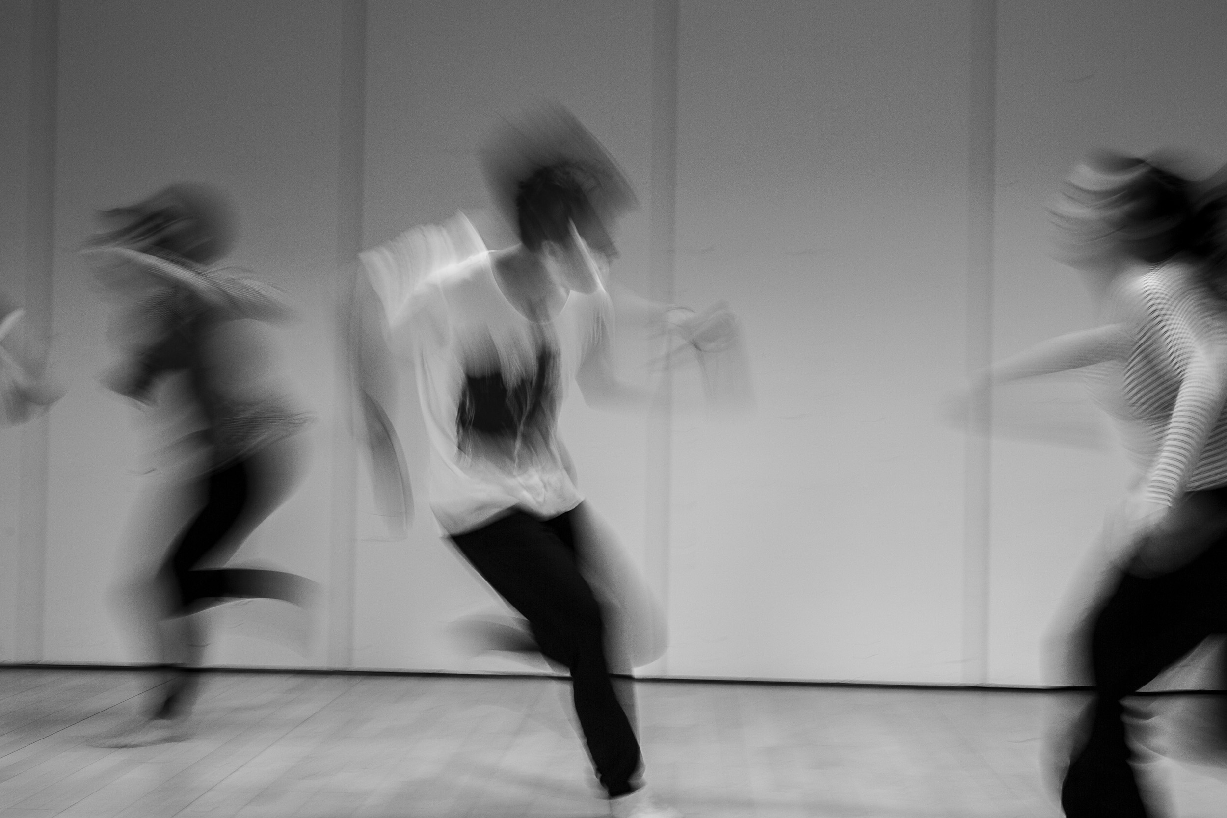Physical theatre exercises facilitated by Johan Bark.