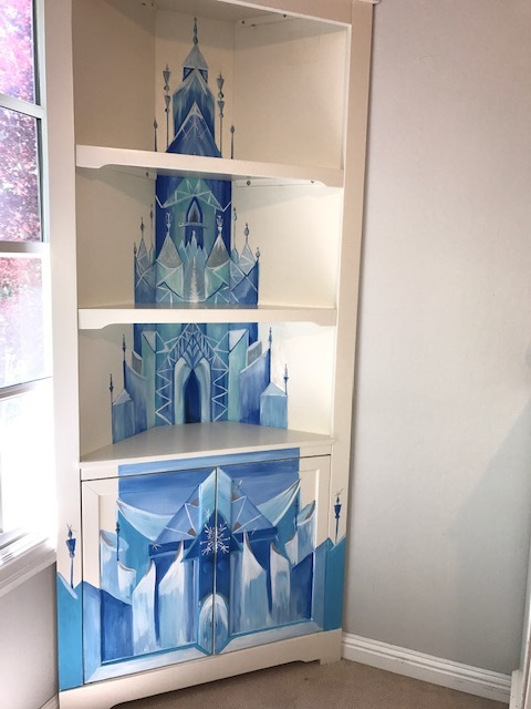 Elsa's Ice Palace Bookshelf