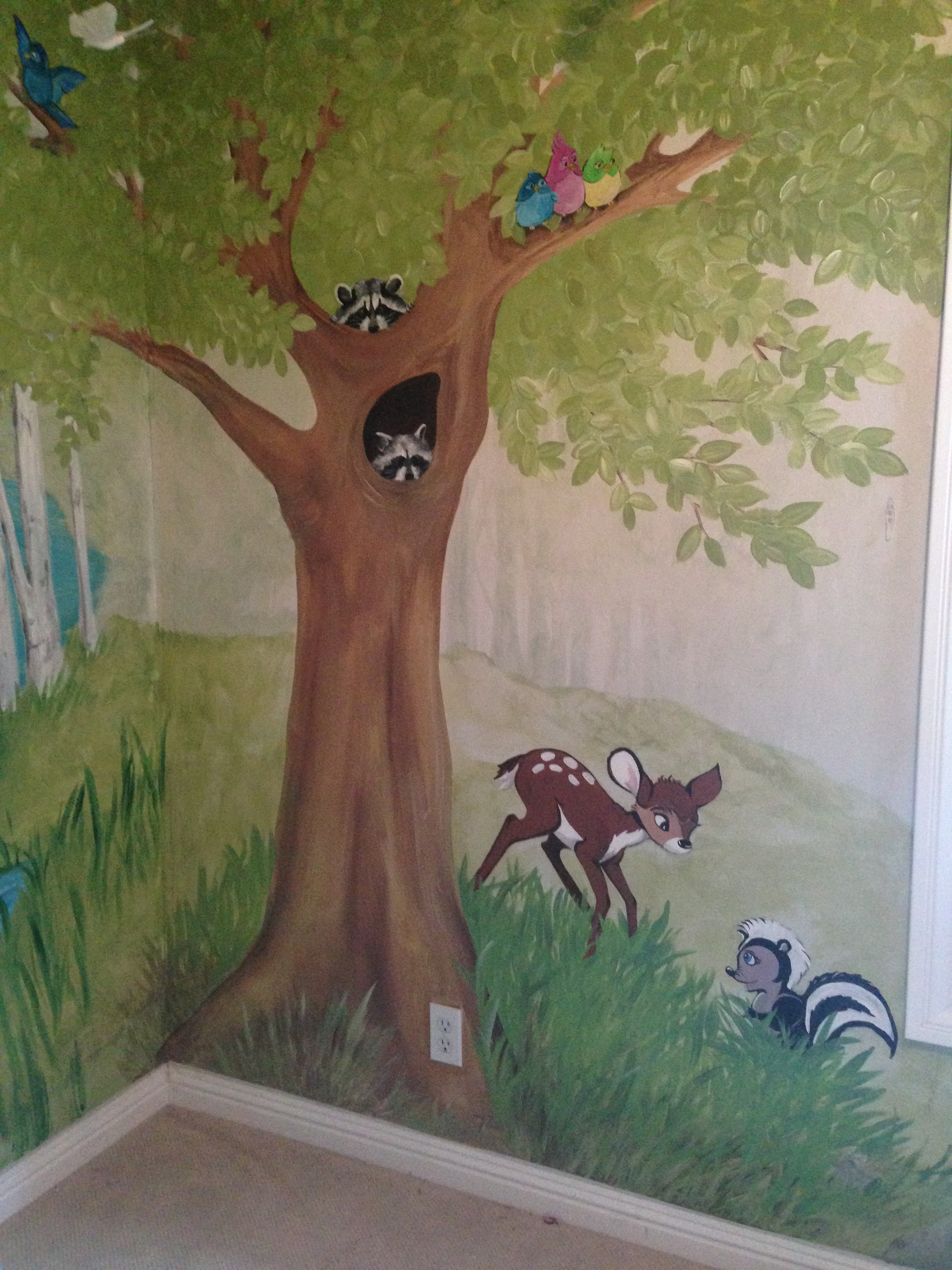 Part of  'Fairyland' Mural