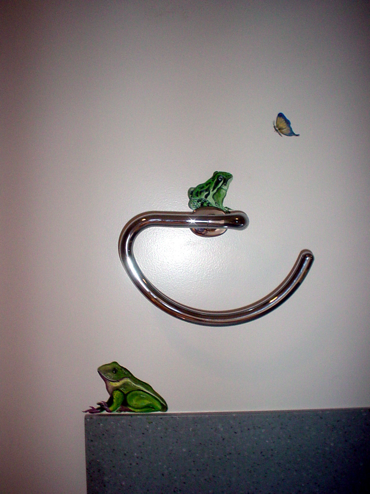 Bathroom Frogs