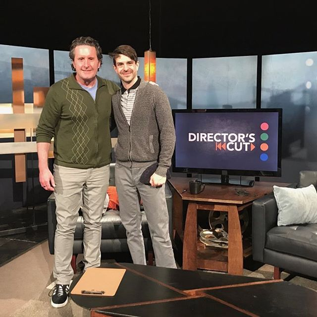 TV TIME!! MONDAY, APRIL 1ST at 9P, Writer/Director Asa Derks appears on the Wisconsin Public Television series DIRECTOR'S CUT to discuss Singularity Stories Vol. I!⠀ ⠀ This is a special episode discussing all things Wisconsin Film Festival. Here's a picture of Asa with host Pete Schwaba, and a group shot of all the talented filmmakers who will appear on the program. ⠀ ⠀ The episode will air on Wisconsin Public Television at 9p on Monday, and will be available online on the WPT website. Tickets are still available for our shorts program at the Wisconsin Film Festival on Friday, April 5th: https://buff.ly/2Hl7oU1⠀ And our online premiere is coming up soon, on Monday, April 8th, on Short of the Week!⠀ shortoftheweek.com⠀ cinecismmedia.com⠀ #directorscut #wisconsinpublictelevision #wifilmfest #cinecismmedia #cinecism #singularitystories #singularity #ai #artificial intelligence #shortfilm #indiefilm #tvinterview #badhairalert