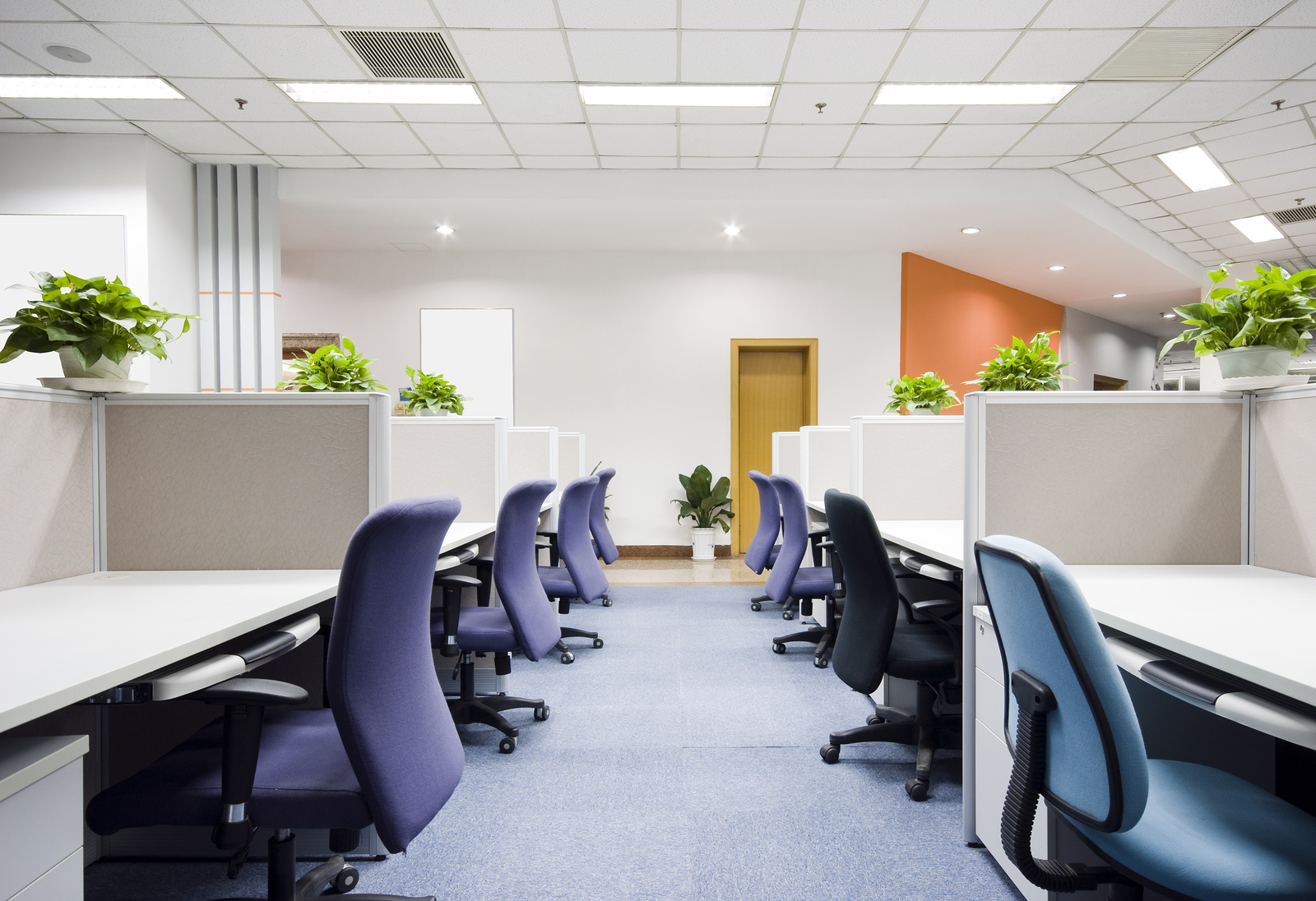 Offices - | We appreciate the value of a clean work environment. From the restrooms, to the carpets, to each individual wastebasket, we'll do our part to make each workday a little brighter.