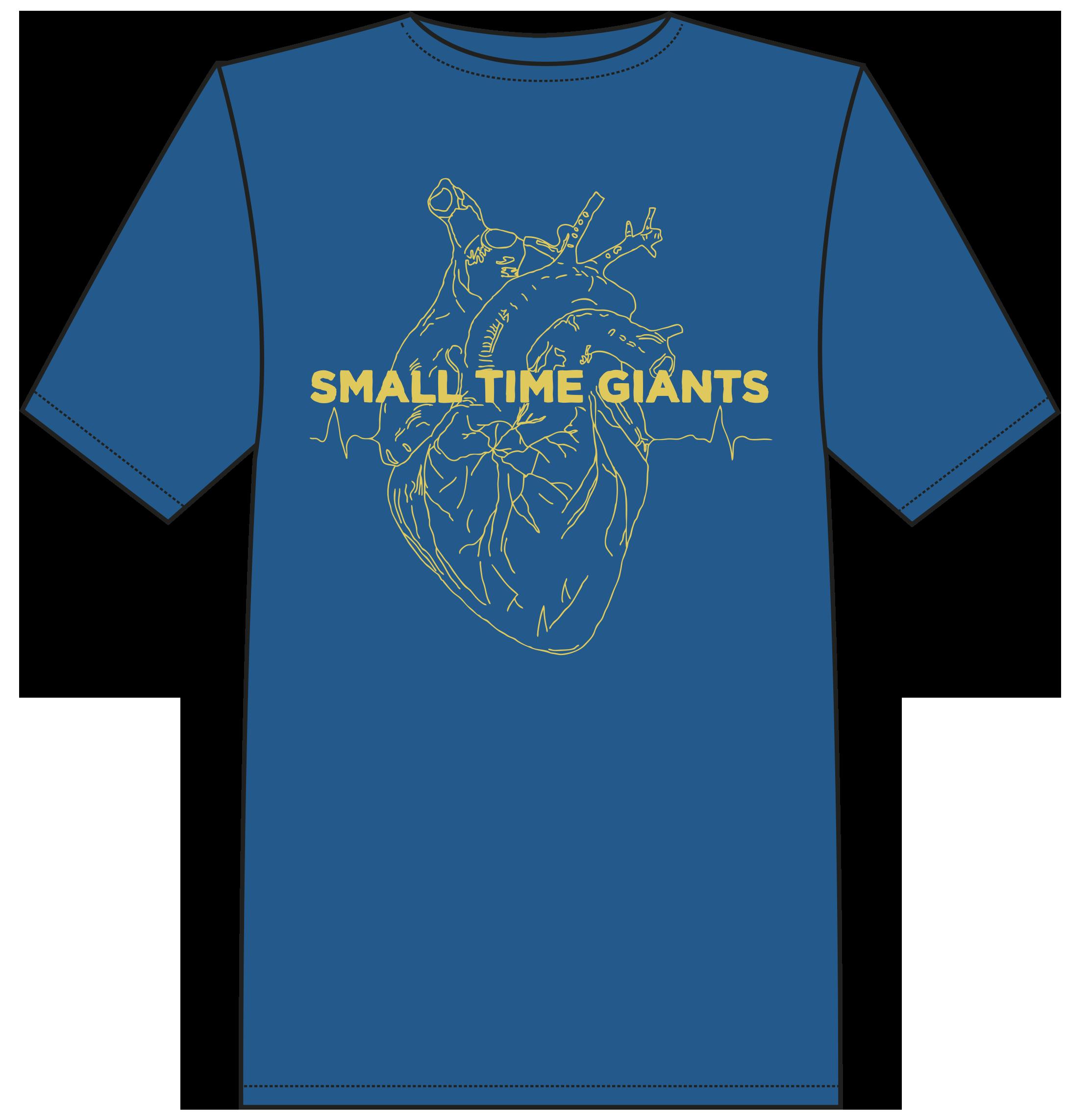 T-shirt Blue - 200 DKK