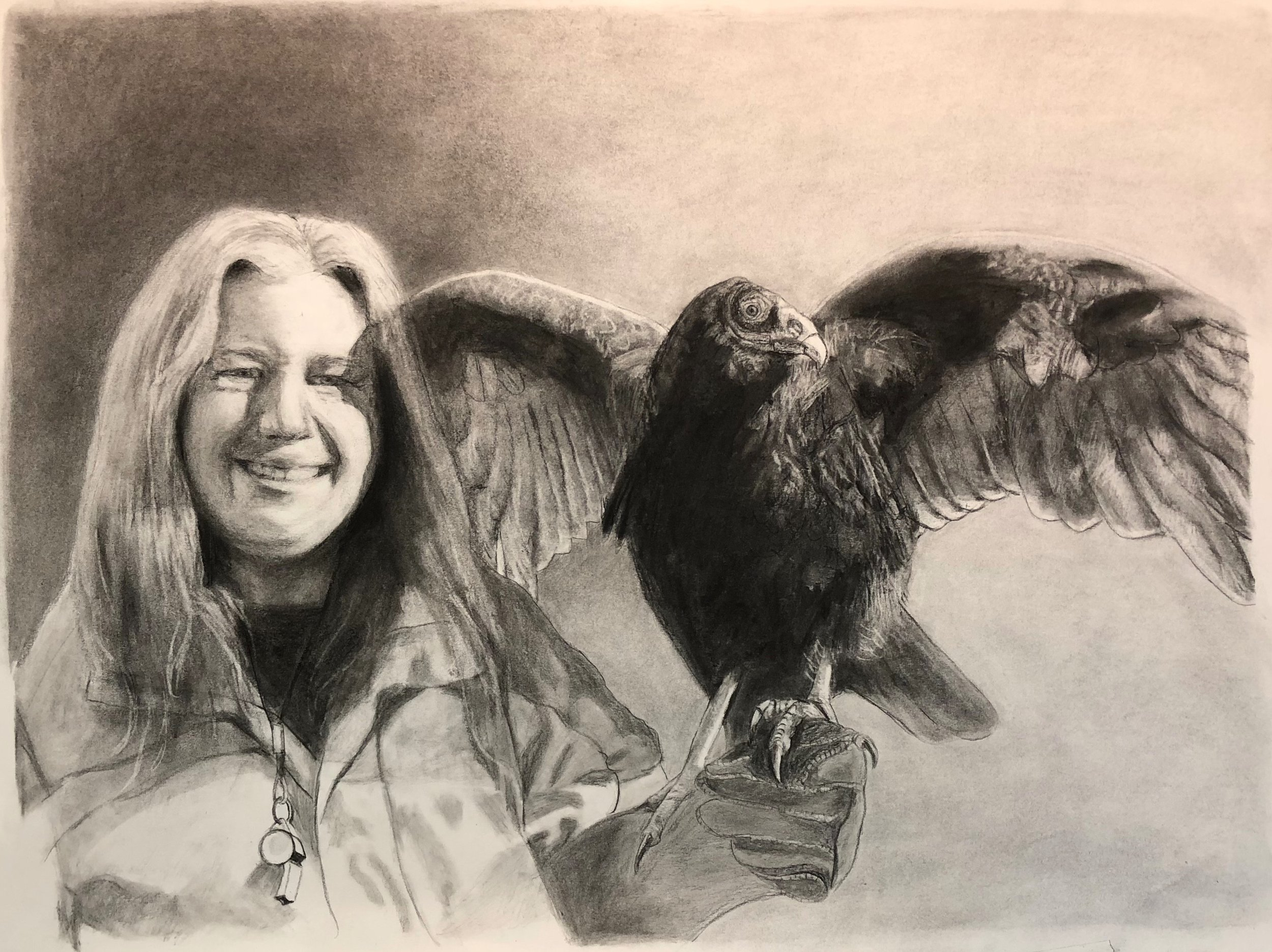 Women in Wildlife Rehabilitation: with the Turkey Vulture