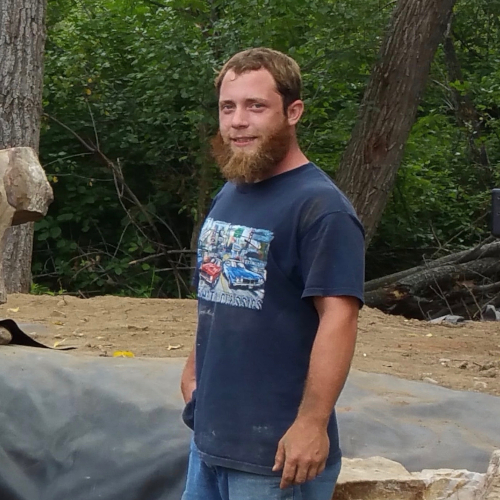 Trevor Shoop - Construction Manager, built over 500 water features, joined in 2007