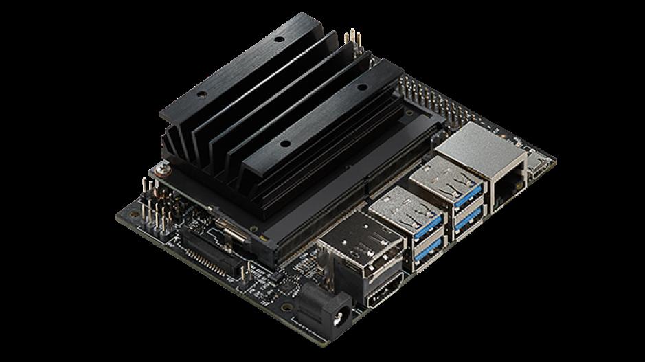 Nvidia's brand new $99 Jetson Nano embedded computer.