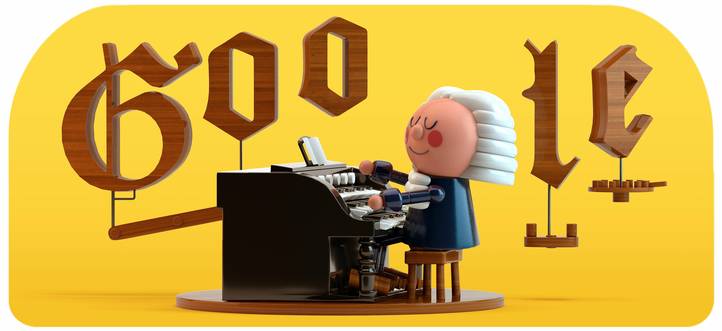 This image provided by Google shows the animated Google Doodle on Thursday