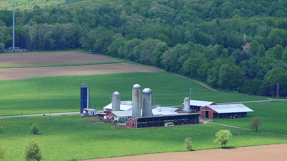 Many farms in the US dispose of waste illegally.