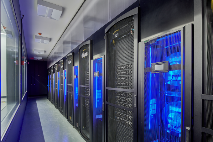 The data centres for the AI.