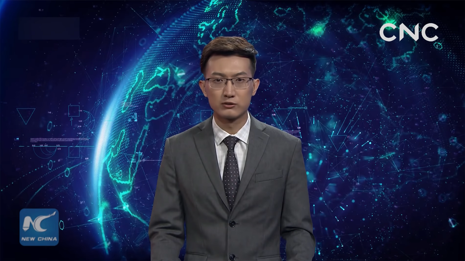 AI news anchor - a collaborative effort between ADM and Sugou Inc.
