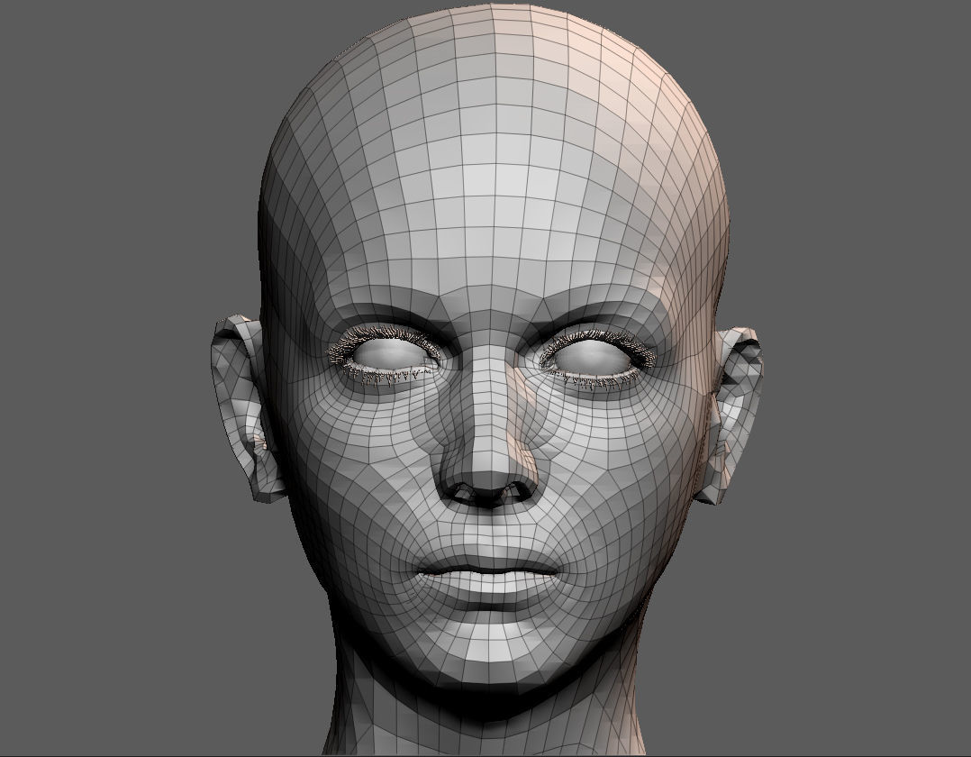 AI capable of constructing face from a small voice snippet