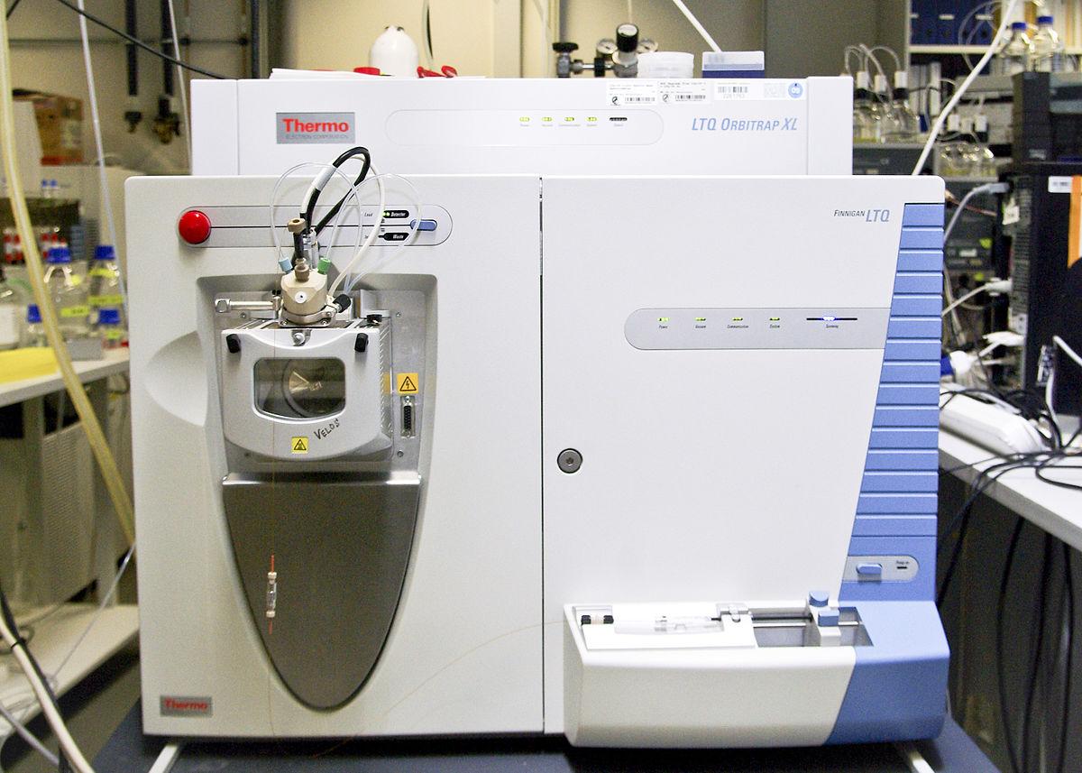 A Mass spectrometry machine