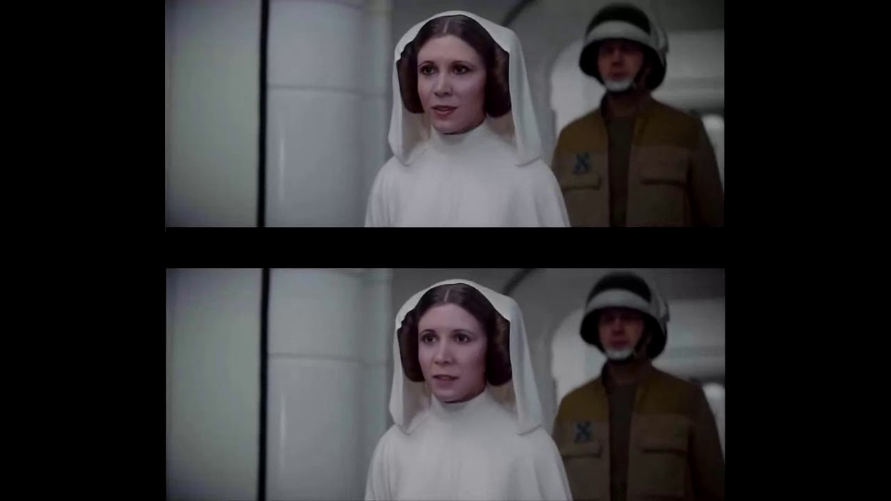 Top: CGI Bottom: Deepfake