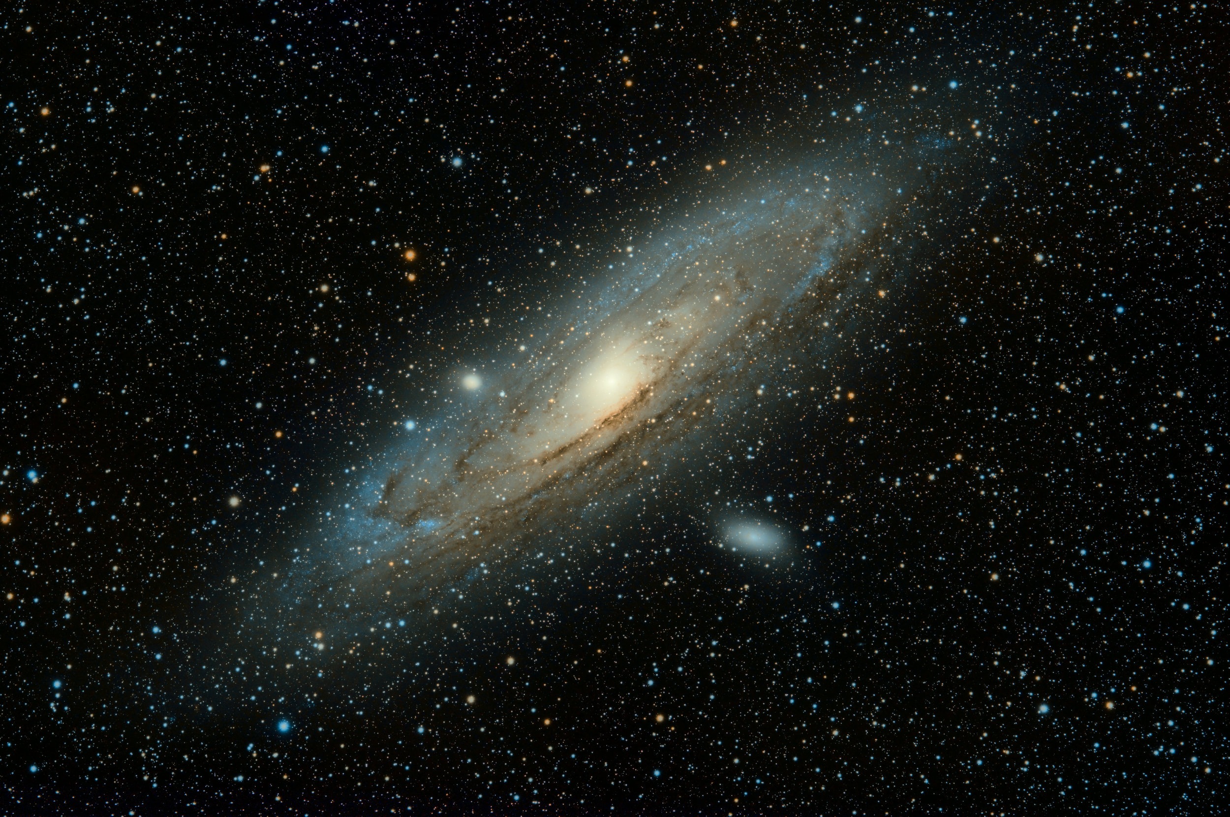 Now that you've seen an apple, describe how the gravitational field of Andromeda will affect the orbital of planets on the rim of the Milky Way as Andromeda draws closer. Any complaints?