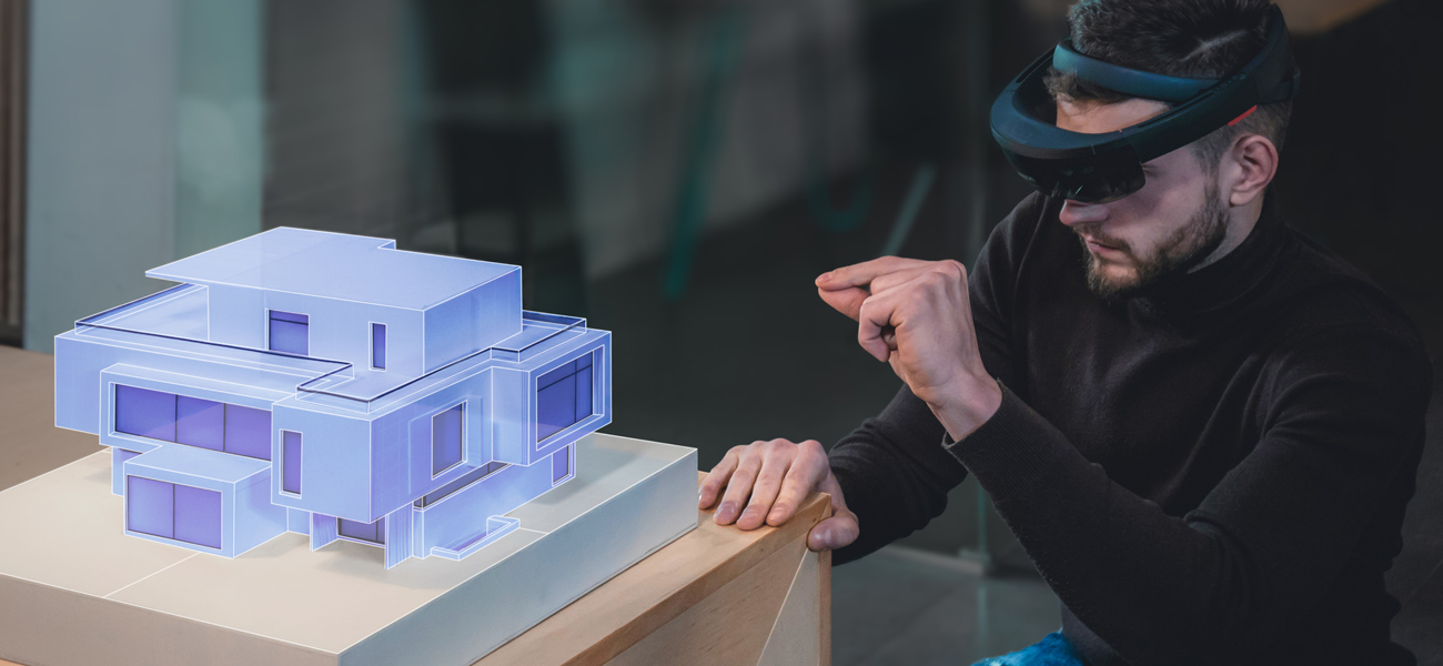 Potential use of the Microsoft HoloLens - architectural design.