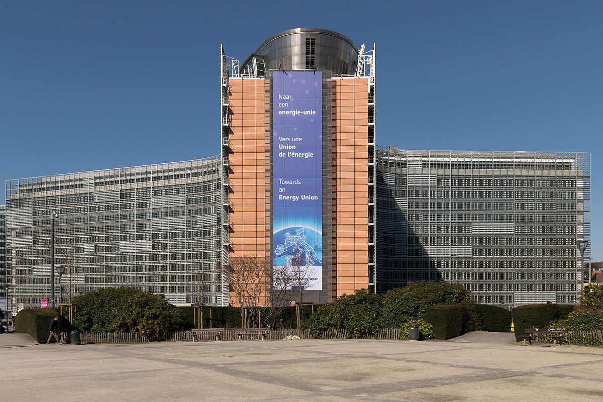 "Berlaymont building in Brussels. Where members of the commission and their ""cabinets"" are based"