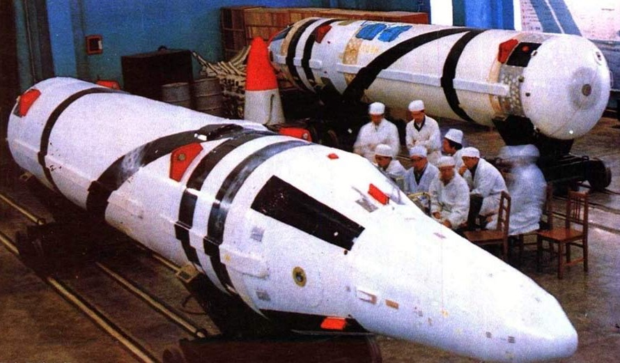 The Julang-1 was China's first generation nuclear submarine-launched ballistic missile (SLBM).