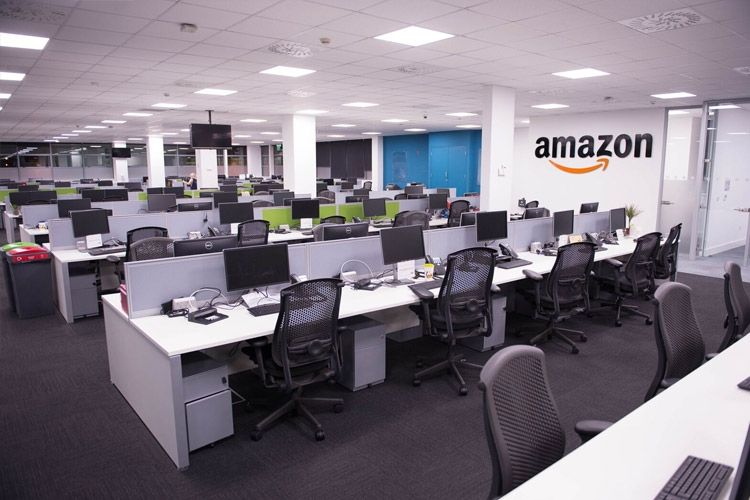 Amazon.com, Inc. is an American multinational technology company that focuses on e-commerce, cloud computing, digital streaming, and artificial intelligence. It is considered one of the Big Four technology companies along with Google, Apple, and Facebook.