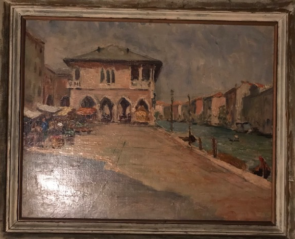 A favorite painting of Mark's from his grandmother, possibly by Piero Sansalvadore