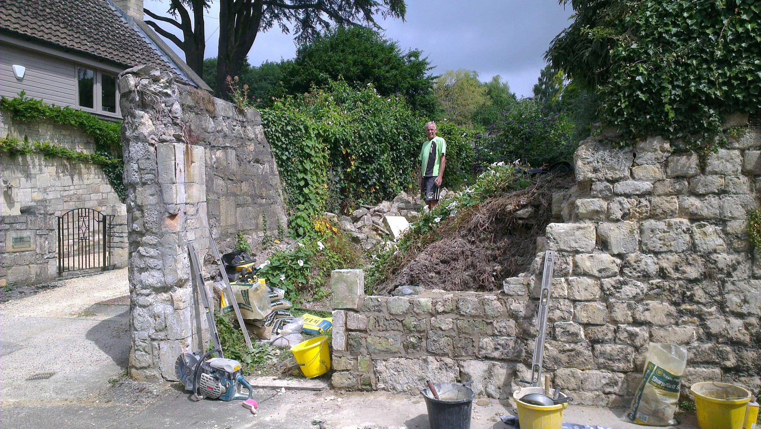 Mending Beckford's Wall, 10.7.17