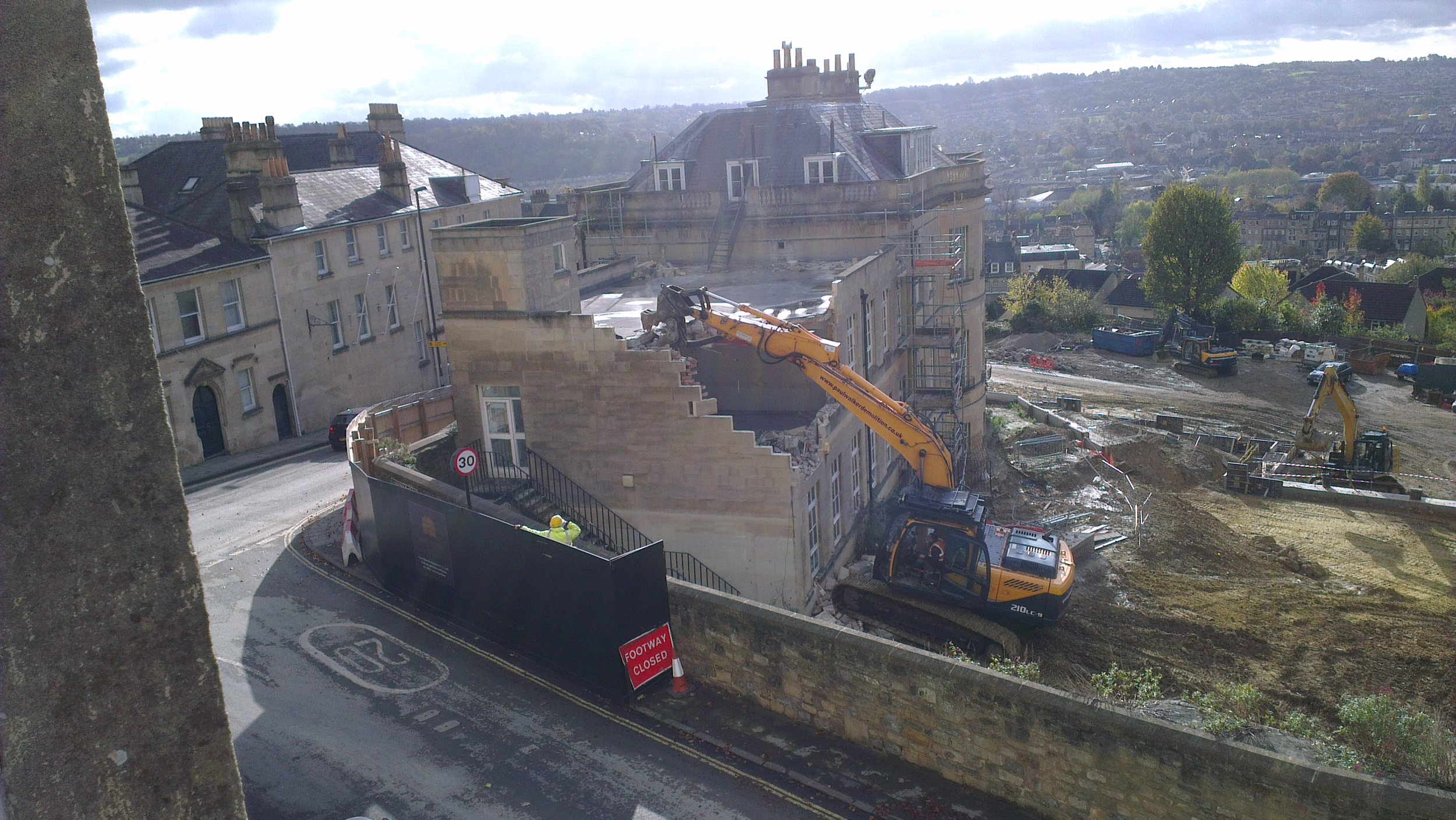 Demolition of the Hope House extension