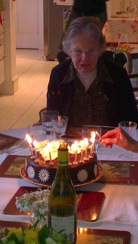 Celebrating Dr Jean Hansell's 93rd birthday