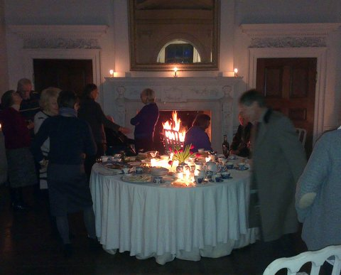 Dr Jean Hansell's 94th birthday party at Worcester Lodge, Badminton