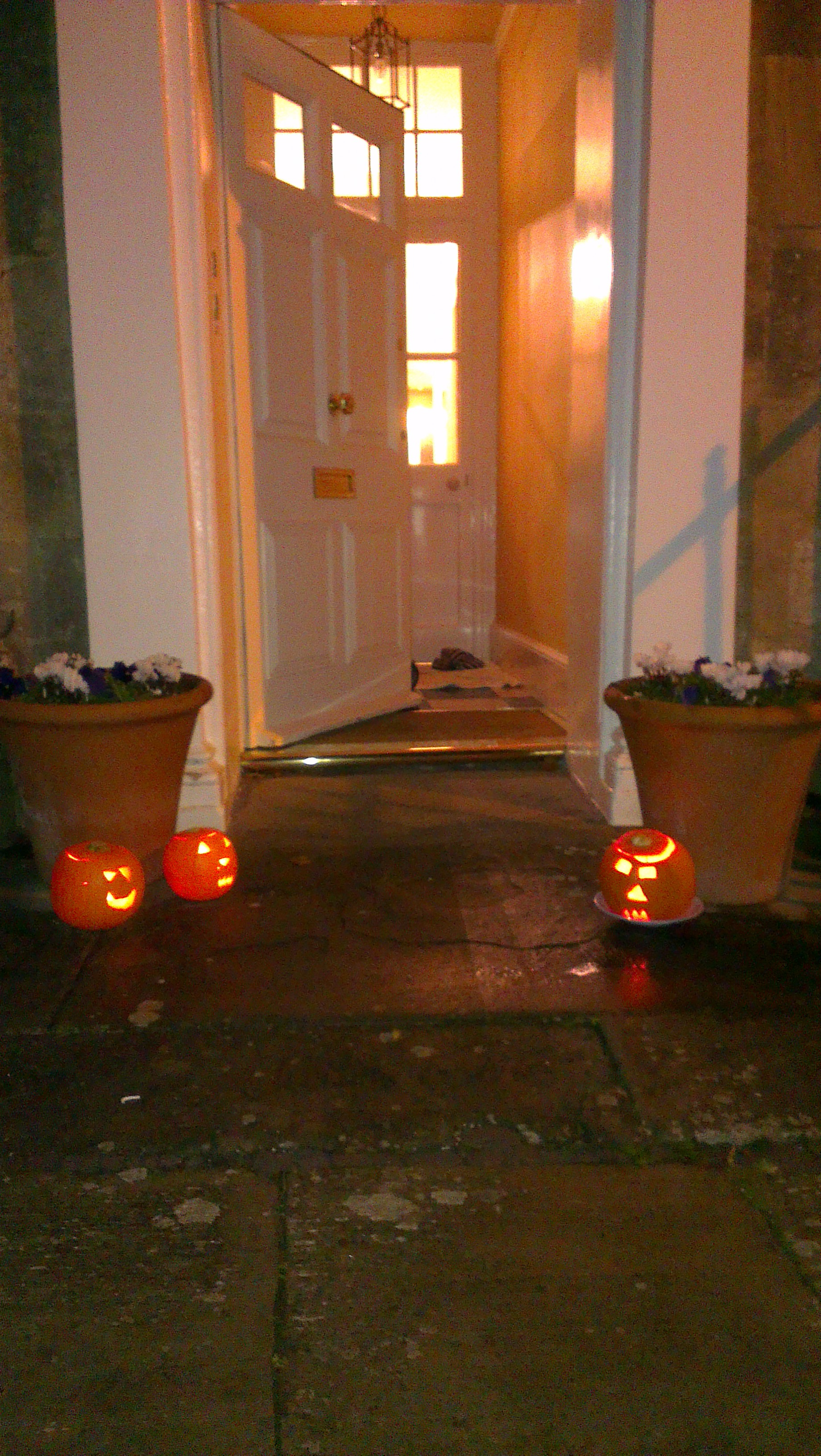 Halloween in Lansdown Place East