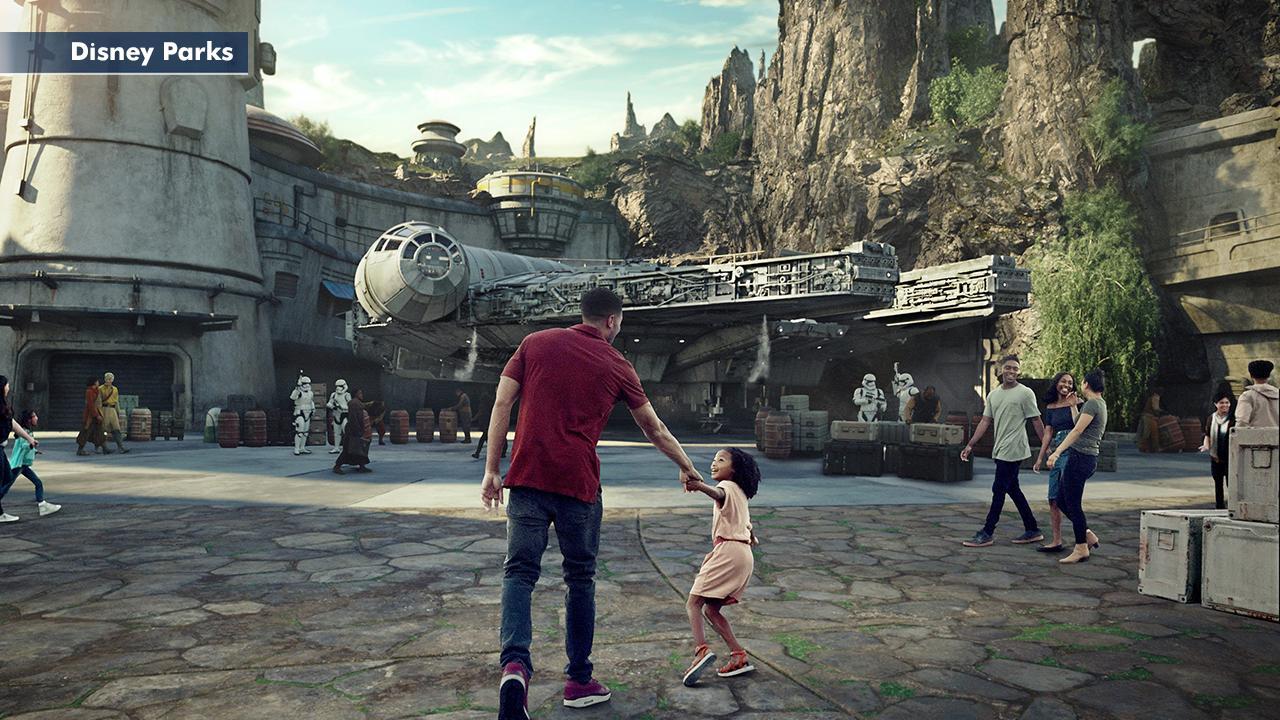 Credit Disney Parks