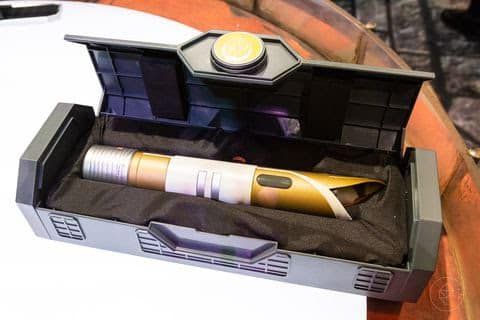 Temple Guard Lightsaber Hilt with included case