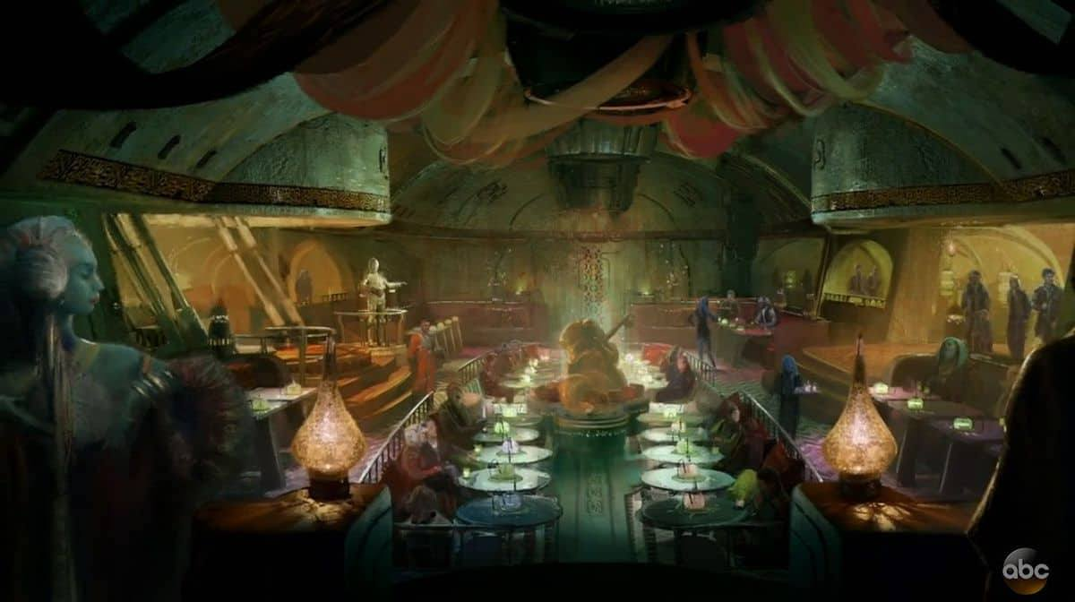 Disney/ABC Concept art of the Dinner Show