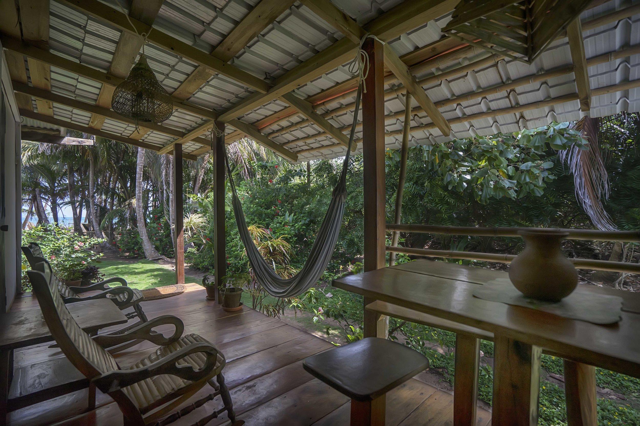 The guest Suite Porch