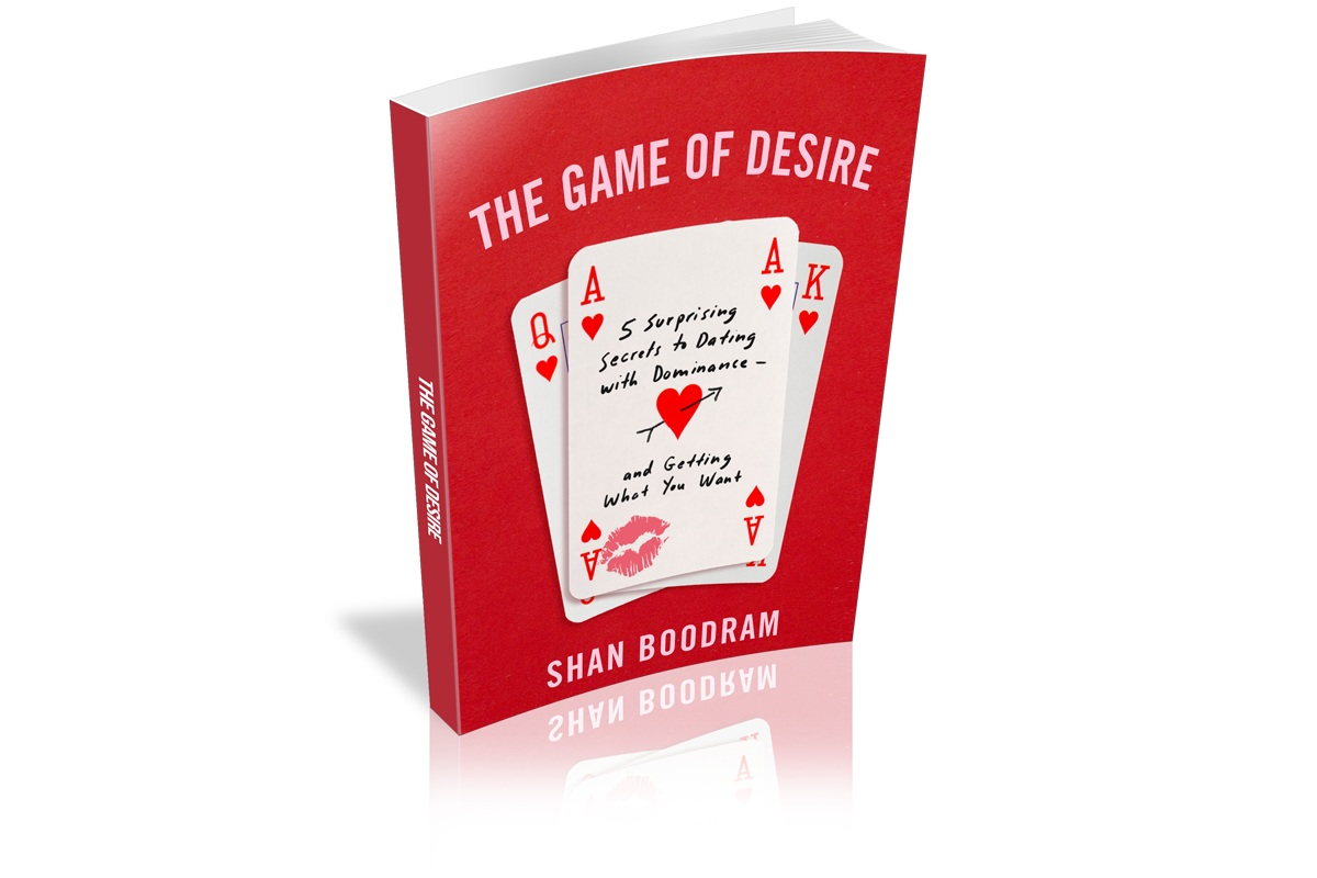 PLAYER 1 - When you pre-order one copy of The Game of Desire you get:1) Access to the private podcast2) The official teaser + intro of #TGOD3)10% off Conversation-Starter Shirts