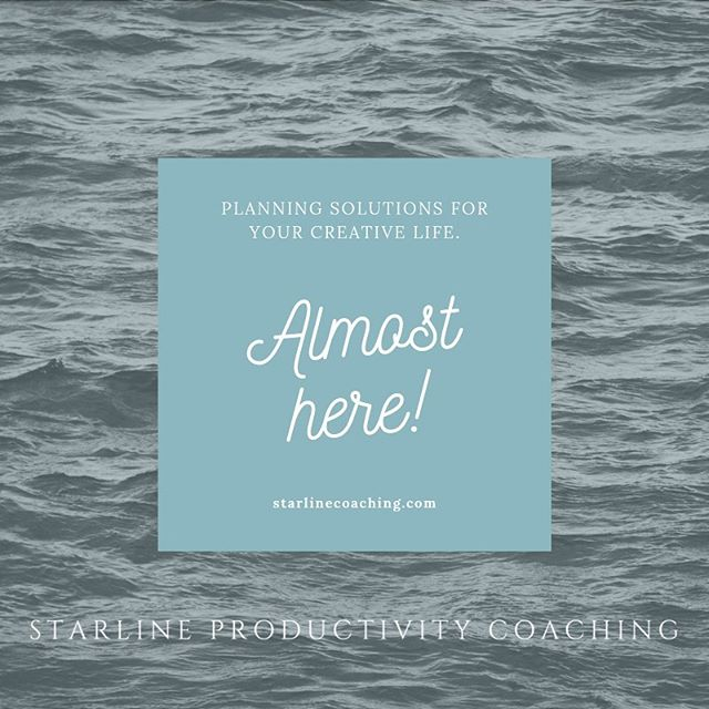 I am so close to launch! The website is almost ready to roll! The newsletter is written! All I need is you! #newbusiness coming in just a few days! #womenownedbusiness #coaching #productivity