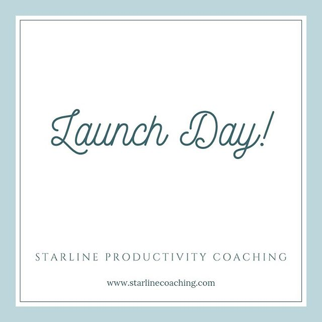Today is the day! My website is live, and I'm taking appointments for free Discovery sessions! I am excited to help you feel good about your schedule and make time for your passions! I'm also offering $250 off for my first four clients who book a 12-week Illumination Package. Take a look! Link in bio. #productivityjourney #coachingworks #coaching #newbusiness #bethefirst #passions