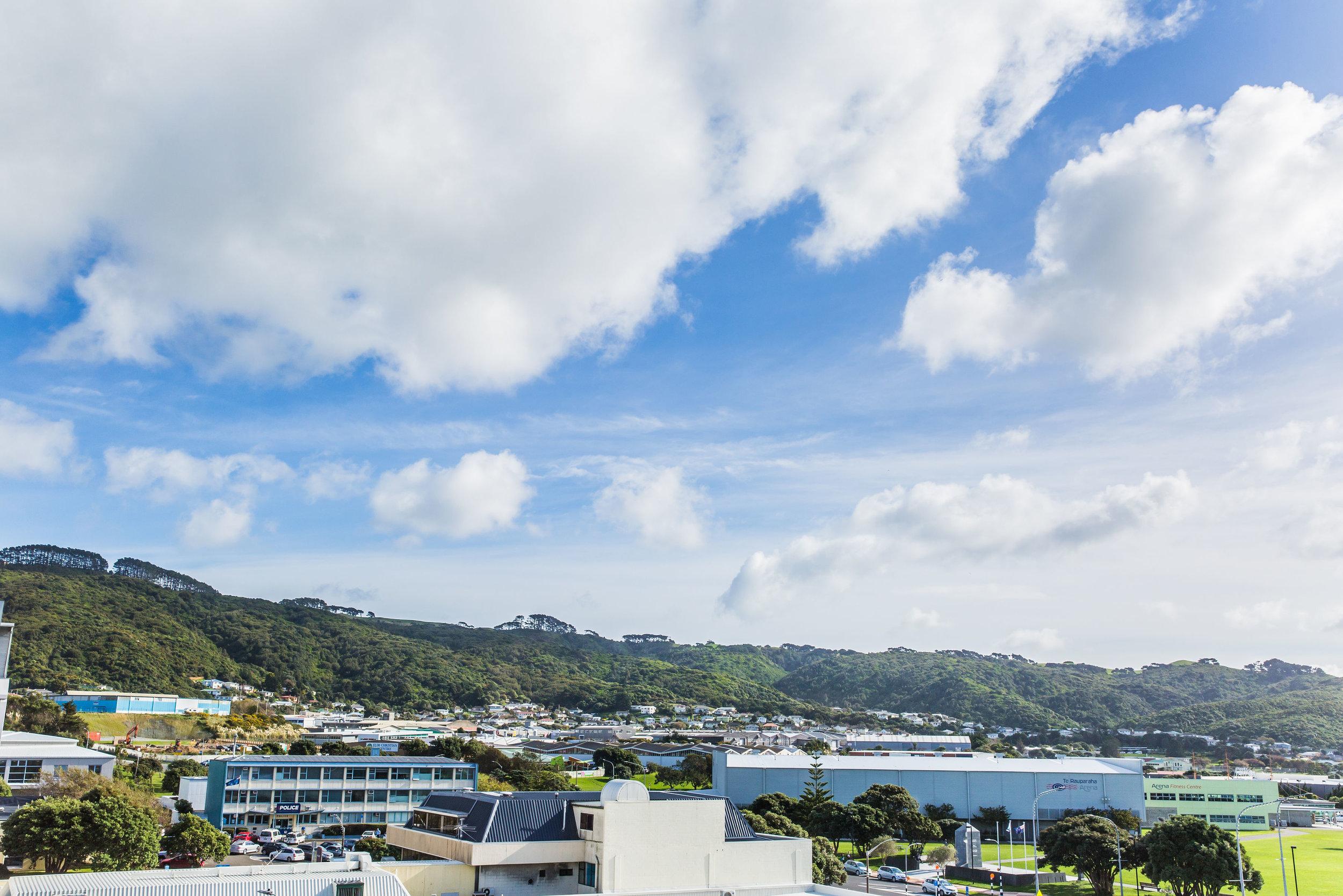 The View - Te Rauparaha Arena