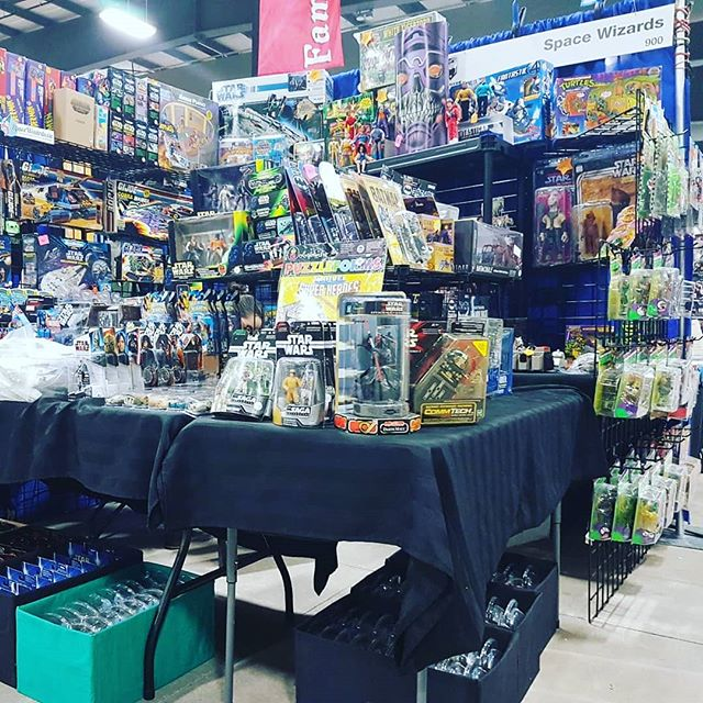 Booth 900 is now fully operational. All sensors on and ready for an amazing three days! #ottawacc #ottawa #comiccon