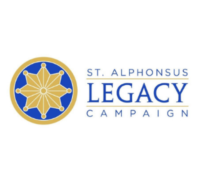 Pledge Your Legacy - Please commit a pledge to our Legacy Campaign to care for the capital needs of our campus. Our buildings are beautiful but aging. As Christian stewards, it is our privilege and responsibility to tend to our parish home and make it even better for future generations. Learn more about our Campaign and its funding priorities at www.stalphonsuschicago.org/legacy-campaign before making your pledge.Parishioners will receive a letter prior to our Commitment Weekend on Sunday, February 17 with a suggested pledge.