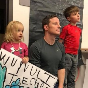 Spring 2018 DCTA/DPS bargaining session with my kids.