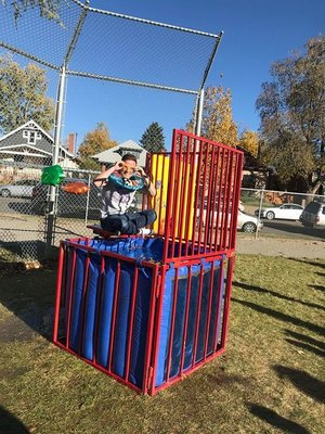 2017 Dunk Tank Fundraiser at Lincoln Fall Fest