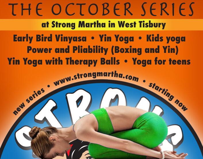 The october series at strong martha