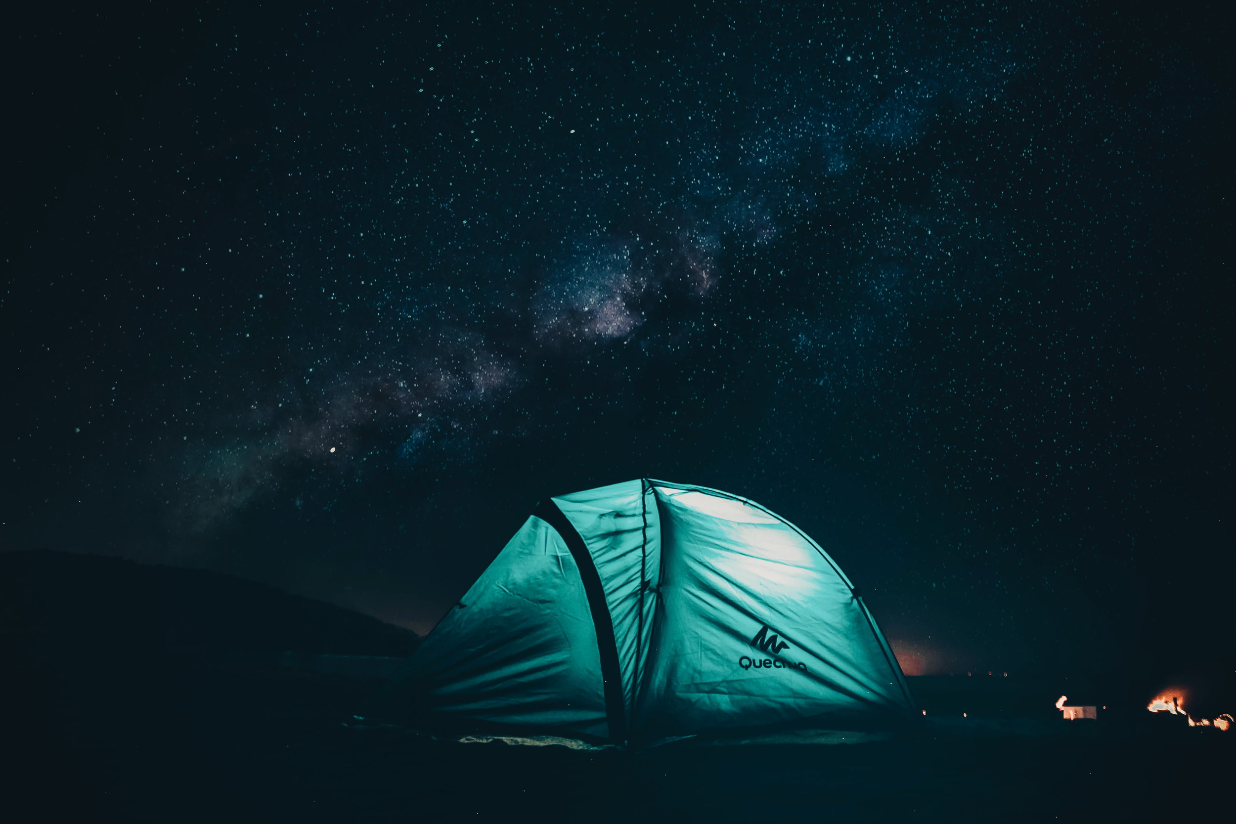 Real & Safe - Tent sleepover Under the Stars